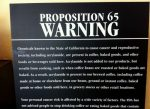 Proposition 65 is California