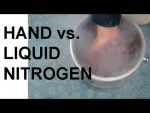 What happens if you put your hand in liquid nitrogen and keep it there?