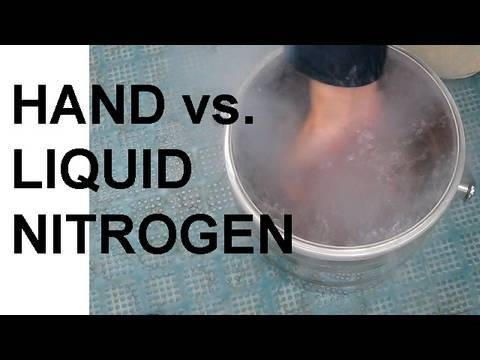 What Happens If You Put Your Hand In Liquid Nitrogen And